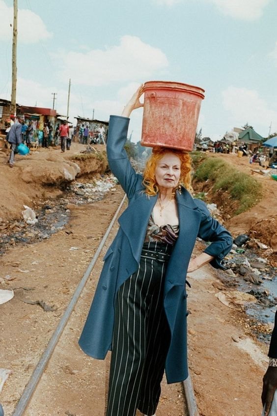 Vivienne Westwood - queen of sustainable fashion!